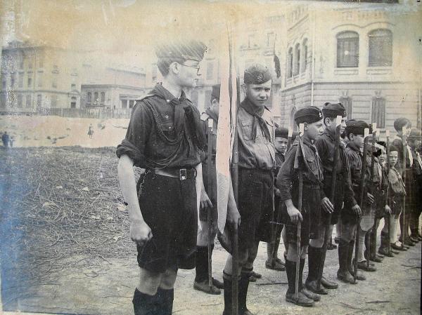 Scouts russes de Marseille en 1930
