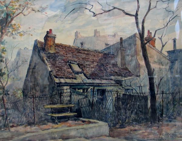 """Constantin Bruni """"La Maison de Mimi Pinson"""" à Montmartre"""