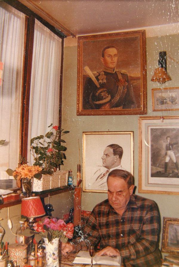 Le poète cosaque Nicolas Nicolaievitch Touroverov