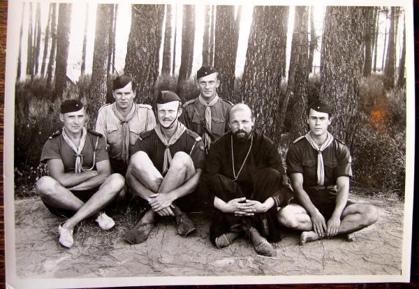 Camp de l'ACER à Cavalaire en 1935