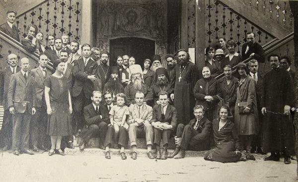 Stelletsky L'Institut de théologie orthodoxe Saint-Serge à Paris en 1926