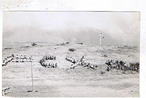 Camp d'été de l'ACER en 1959 à St-Théoffray