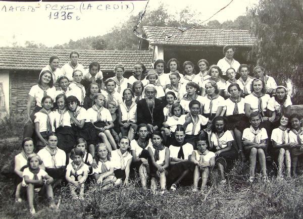 Camp de l'ACER (РСХД) à La Croix La Nartelle près de Saint-Maxime