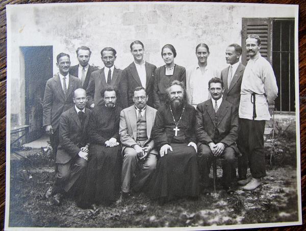 Participants du congrès fondateur de l'ACER à Pcherov