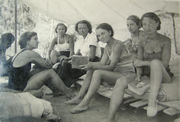 Camp de l'ACER, La Croix, La Nartelle 1932