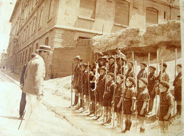 Scouts russes à Marseille