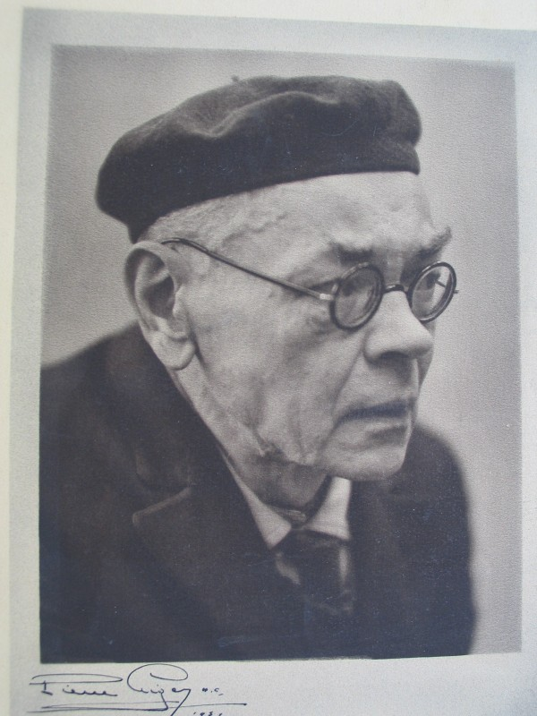 Portrait d'Alexeï Remizov Paris 1951